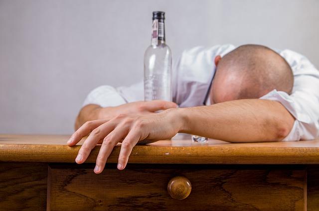 Alcoholism hangover